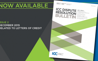 December Issue of the ICC Dispute Resolution Bulletin – Ya disponible
